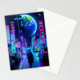 New World 2077 Stationery Cards