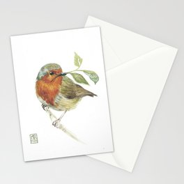 Robin Stationery Cards