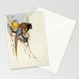 Partridge in a tree Stationery Cards