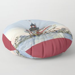 Thomas Point Light Floor Pillow