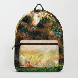 Pierre-Auguste Renoir - Fog On Guernsey - Digital Remastered Edition Backpack