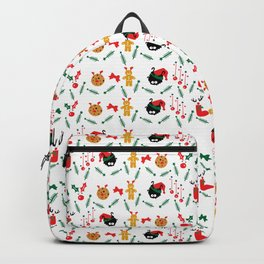 Christms decoration pattern Backpack