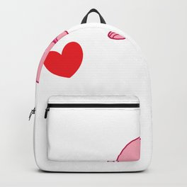 Blobfish Is My Valentine Ugly Fish Sea Creature Backpack