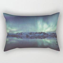 Jokulsarlon Lagoon - Landscape and Nature Photography Rectangular Pillow