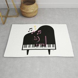 Cat Musician Rug