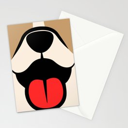 Dog face Stationery Cards