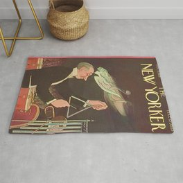 Vintage New Yorker Cover - Circa 1933 Rug