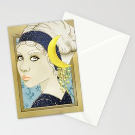 Moon Series: 1910s Stationery Cards