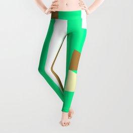 Stripes&triangle Leggings