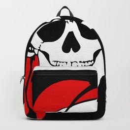 Pirate Crossbones Skull Bone Flag Danger Symbol. Backpack