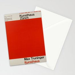 kunsthaus zurich 1962 richard p vintage Poster Stationery Cards