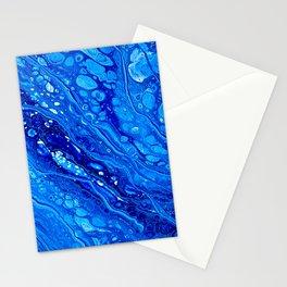 Blue Splash Stationery Cards