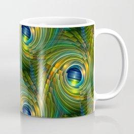 3D - abstraction -a- Kaffeebecher