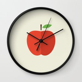 Apple 17 Wall Clock
