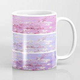 Vincent Van Gogh : Almond Blossoms Lavender Panel Art Coffee Mug