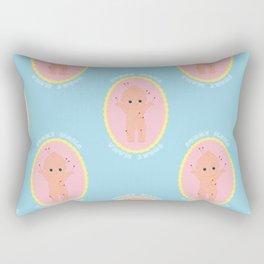 Sorry Mama Voodoo Cutie - Pastels Rectangular Pillow