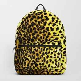 Leopard Print Animal Wallpaper Backpack