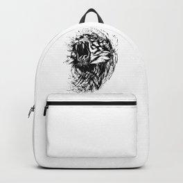 Roaring Ferocious Tiger Backpack