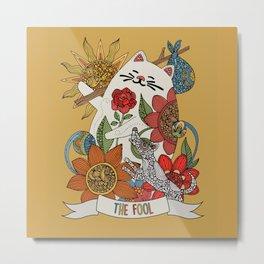 The Fool (El lLoco) Metal Print