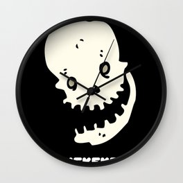 Laughing Skull Ke ke ke ke ke ke ke Funny Skeleton Gift Halloween Costume Wall Clock