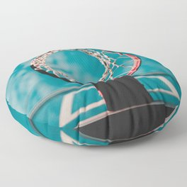 basketball hoop 6 Floor Pillow