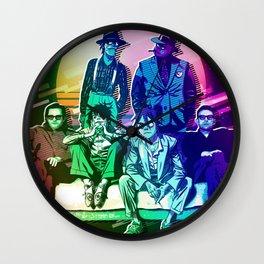 Rainbow Retrostyle Wall Clock