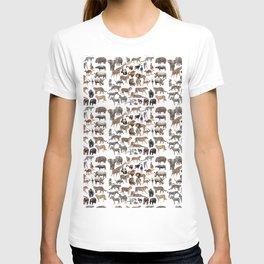 Wild animals × 25 T-shirt