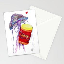 PB&J Fish Stationery Cards