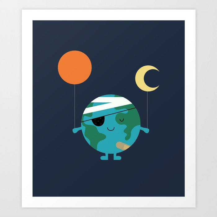 Descubre el motivo LOVE OUR WORLD MORE de Andy Westface como póster en TOPPOSTER
