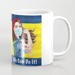 We Can Do It! inspirational nurse art Coffee Mug
