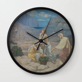 The Shepherd's Song,1891 Wall Clock