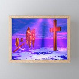 The Blood Warrior Framed Mini Art Print