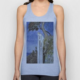 """Waterfall"" by Ida Rentoul Outhwaite (1916) Unisex Tank Top"