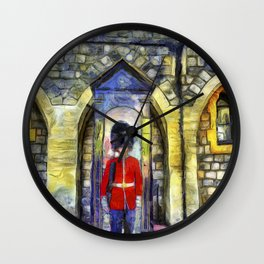 Coldstream Guard Art Wall Clock