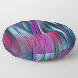 Colorful Motion Blur Floor Pillow
