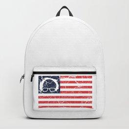 American Flag Bernie Sanders Backpack