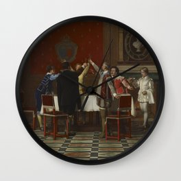 Florent Joseph Marie Willems - The Health of the King Wall Clock