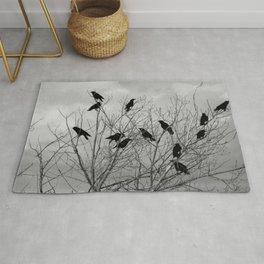 Murder Of Crows - Three Rug