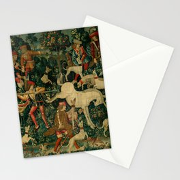 The Unicorn Defends Itself (from the Unicorn Tapestries) 1495–1505 Stationery Cards