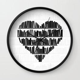 Book Lover II Wall Clock