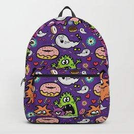 Greedy Monsters Backpack