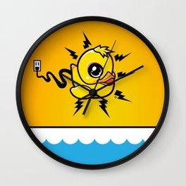 Unplug It! Wall Clock