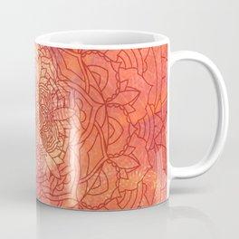 Autumn Mandala Pattern Coffee Mug