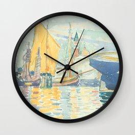 Venice The Giudecca by Henri-Edmond Cross 1903, French Wall Clock