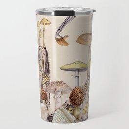 Brain Mushroom Travel Mug