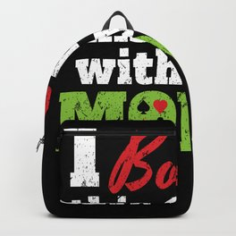 Bought Shirt With Money Backpack