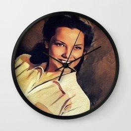 Kathryn Grayson, Actress Wall Clock