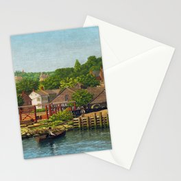 Niels Jørgensen View of Staten Island, a Section of New York City Seen From New Jersey Stationery Cards