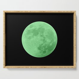 LIME MOON // BLACK SKY Serving Tray
