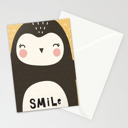 Penguin Smiles Stationery Cards